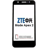 Mica Zte Blade Apex 2 Tactil Touch Cristal Frontal