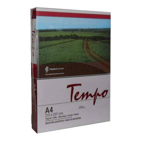 Resma A4 Papel Tempo Fsc 75 Grs. Shure Papers