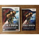 Metroid Prime 3 Corruption Completo Para Nintendo Wii