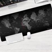 Pad Grande Xl 84x38cm Mapa Gamer Oficina Mouse Y Teclado Pc