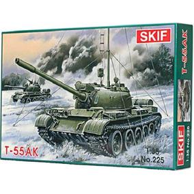 Skif 225 - Tanque Sovietico / Tank T-55 Ak - Escala 1/35