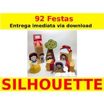Silhouette - Branca De Neve - Mega Kit 92 Festas