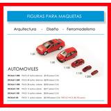 Autos Maqueta Arquitectura 1:500 1:200 1:150 1:100 1:50