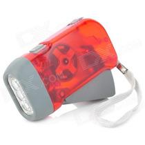 Paquete Con 10 Lamparas Recargables Linternas De Friccion