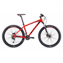 Bicicleta R27.5 Giant Talon 2 Disc Montaña 2017 Roja