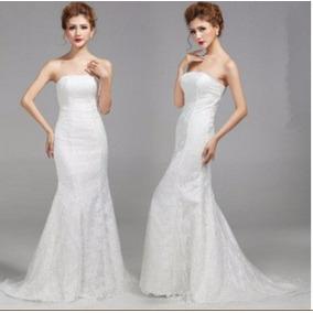 Vestio De Noiva Sereia Cauda Longa