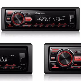 Rádio Automotivo Pioneer Mvh-88ub Media Receiver Mp3 Am Fm