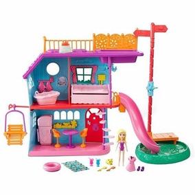 Polly Pocket Mega Casa De Ferias Da Polly Mattel Fch21