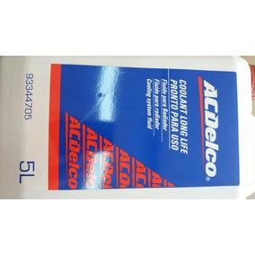 Aditivo Radiador Ac Delco Vermelho Pronto P/uso 5 Litros