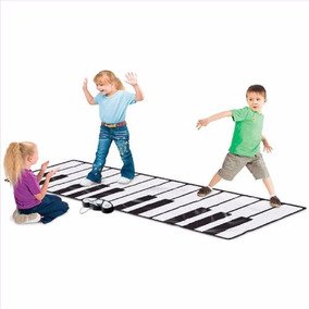 Teclado Piano Gigante Tapete Alfombra Piso Niños Musical