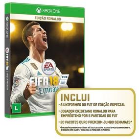 Fifa 18 Xbox One Edição Ronaldo Em Português Mídia Física