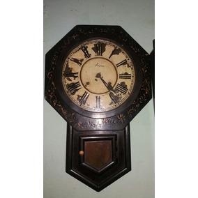 Reloj Antiguo Ansonia Esta Para Reparar O Como Decoracion