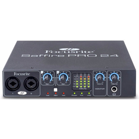 Focusrite Saffire Pro 24 Placa Audio Interfaz Firewire 6pag