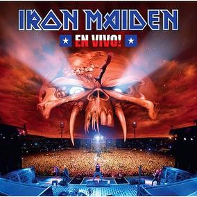 Cd Iron Maiden En Vivo Duplo Novo Original Frete R$ 9,10