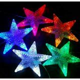 Luces Navidad Cortina Les Forma Campana, Arbolito, Estrella
