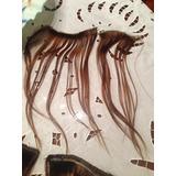 Cortinas De Pelo Natural Usadas Color Chocolate