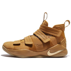 Nike Lebron Soldier 11 Wheat Basquetbol Mayma Sneakers