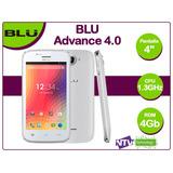 Celular Android Blu Advance 4.0 A270a Como Nuevo + Repuestos
