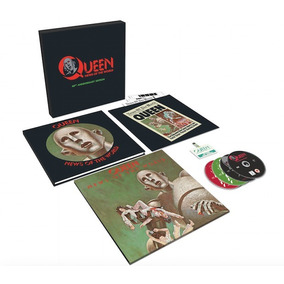 Queen News Of The World 40 An Deluxe Box Import 3cd+dvd+lp