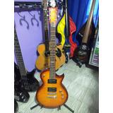 Guitarra Electrica Esp Ltd Ec-100qm Cherry Sunburst
