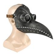 Máscara Médico Da Peste Negra Cosplay Halloween Látex Praga