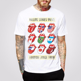 Remera The Rolling Stones - Voodoo Lounge