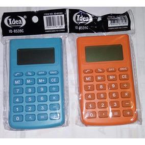 Calculadora Portátil De Bolso Visor Grande 8 Dígitos