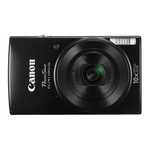 Canon PowerShot ELPH 190 IS compacta color negro