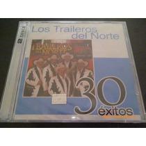 Cd Doble Los Traileros Del Norte. 30 Éxitos Emi. 2008