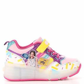 Zapatillas Soy Luna Con Rueda Y Luces Led Dia Del Niño