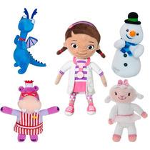 5 Pelúcias Desenho Doutora Brinquedos Long Jump