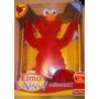 Hermoso Muñeco Peluche Elmo En Vivo Plaza Sesamo