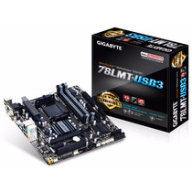 Mother Gigabyte Ga-78lmt-usb3 Am3+ Rev 6.0 Amd Fx 78lmt