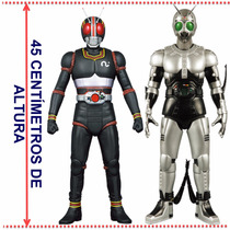 Black Kamen Rider & Shadow Moon ( Jaspion Changeman Jiban )