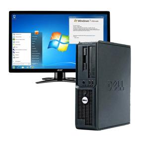 Cpu Pc Dell 2gb 80gb Hd Wi-fi Windows 7 - Frete Grátis