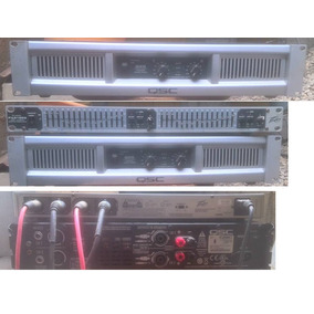 Power, Amplificador Gx5, Qsc, Miniteca, Sonido, Planta.