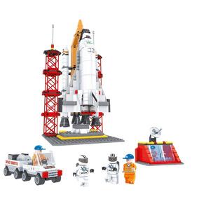 Blocos De Montar Lego Projeto Foguete Espacial 560 Peças