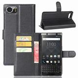 Blackberry Keyone Caso,mangix [correa] Flip Folio [pata De C