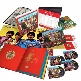 The Beatles Sgt Peppers Lonely Hearts Box Set Envio Imediato