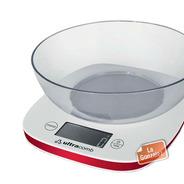 Balanza Digital Cocina Ultracomb Bl6002 H/3 Kilos C/ Bol