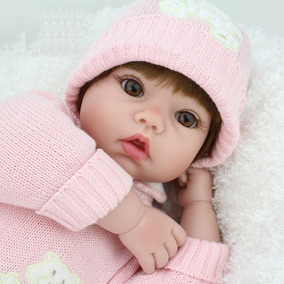 Bebê Reborn Boneca Realista 50 Cm Menina