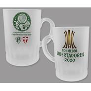 Caneca De Chopp 325 Ml - Palmeiras Campeão Libertadores 2020