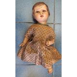 Muñeca De Pasta Ada Rosa Aprox.30 Cms Altura-a Reparar-oca