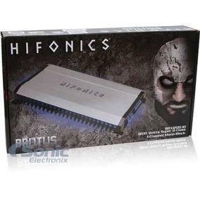 Planta Amplificador Brutus Hifonic 4 Canales 1200w Brx1200.4