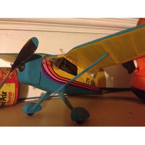 Stinson Relian V77 Antigo Avião A Elastico = Kit Já Montado