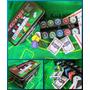 Genial Set Poker 200 Fichas / Paño Black Jack / 2 Mazos Y +