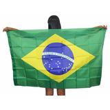 Bandeira Do Brasil Torcida Grande Torcer Copa Do Mundo Jogo