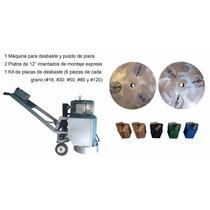 Máquina Kit Desbaste Diamantado De Pisos Concretos Epoxicos