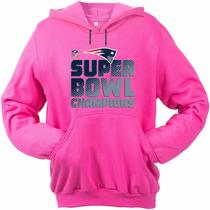 Blusa Moletom Feminino Super Bowl Champions Nfl