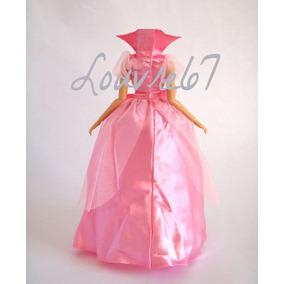 Vestido Con Crinolina Disney Charlotte La Princesa Y El Sapo
